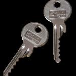 imagen de dos llaves modificadas para realizar bumping